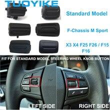 Botão de Controle de Volante do carro Botão da Esquerda À Direita Para BMW F30 F35 F10 F11 F18 F12 F13 F01 F02 M Sport X1X2 X3 X4 X5M X6M F15 F16