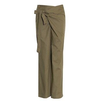 Γυναικείο Παντελόνι μα Ψηλή Μέση Φαρδύ Παντελόνι