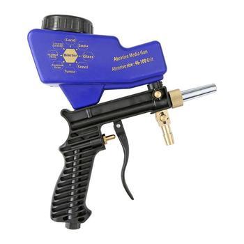Hot Koop Sifon Zandstralen Gun Classic Delicate Sandblaster Air Siphon Feed Blast Mondstuk Keramische Tips Schurende Zandstralen-in Spraypistolen van Gereedschap op