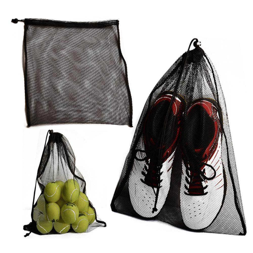 Сетчатый мешок для белья, прочный нейлоновый мешок на шнурке для промывки, пляжных игрушек, плавания, кемпинга, путешествий, уличный мешок д...