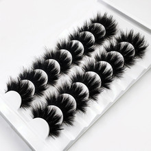 5/8 Pairs 3D Mink Lashes 20mm Eyelashes 3D Natural False eyelashes Soft Mink eyelash extension Makeup beauty maquillaje lashes