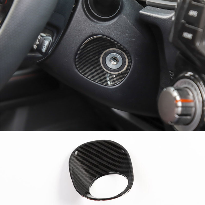 Fit For <font><b>Toyota</b></font> <font><b>4Runner</b></font> <font><b>2010</b></font>+ Car Ignition Switch Decoration Ring Sticker Interior Car Accessory image