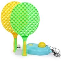 Indoor Outdoor Base Apparaat Tennis Trainer Set Entertainment Racket Bal Training Studenten Zelf Studie Coaching Sport Twee Speler