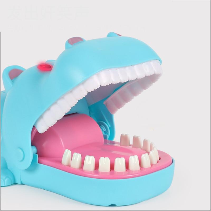 Hand Hippopotamus Lighting Strange New Trick Toys Parody novel Board Game Toys 3