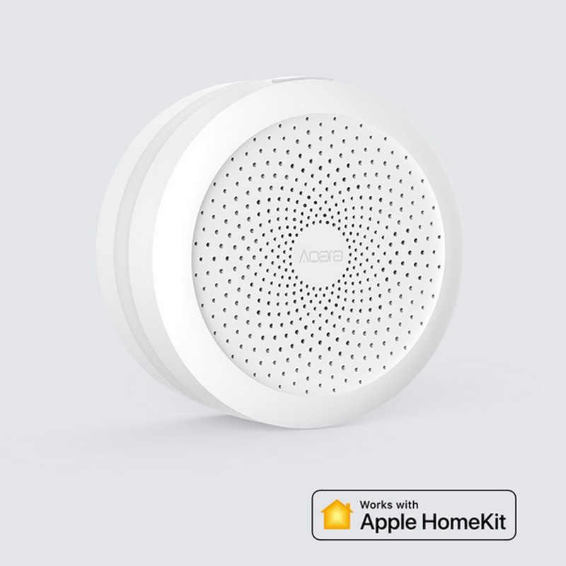Aqara seti akıllı ev kitleri ağ geçidi Hub kapı pencere şok sensörü vücudu sensörü kablosuz anahtarı su sensörü mijia Apple homekit