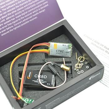 Actualización Corona 2,4 GHz DIY CT8Z módulo y CR8D V2 DSSS módulo y Rx Combo para RC 40 / 72 MHz transmisor Control remoto