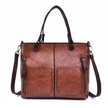 2019 New Women Casual Tote Bag Simple Leather Handbags Luxury Female Large Capacity Shoulder Bag For Daily Shopping Handbag Sac цена 2017