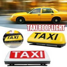 """1"""" знак на крыше такси аэродинамический Магнитный Таксометр верхний фонарь кабины 12В Белый светильник супер яркий фонарь на крыше кабины"""