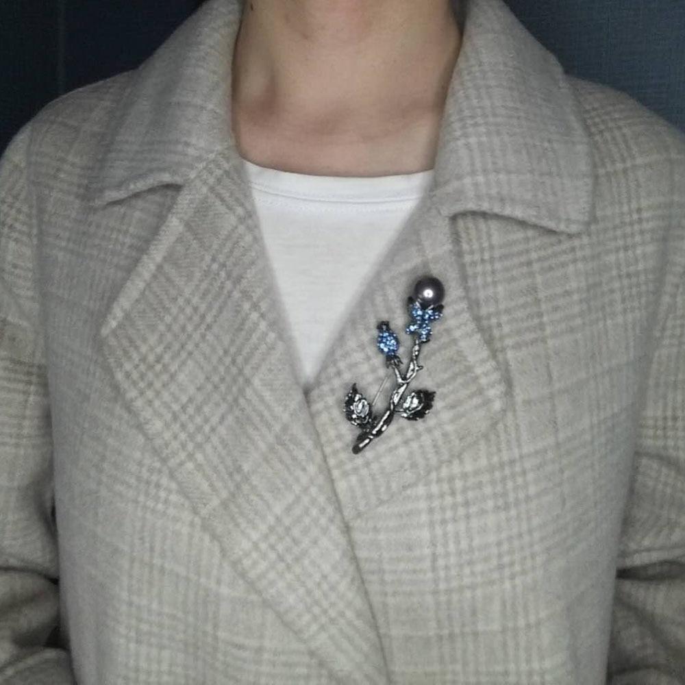 Kuuma myynti muoti naisten tyylikäs helmillä kiva korut musta - Muotikorut - Valokuva 2