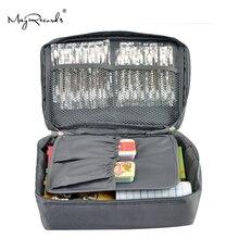 شحن مجاني رمادي في الهواء الطلق السفر الإسعافات الأولية حقيبة المنزل صندوق أدوات طبية صغيرة مجموعة الحبال في حالات الطوارئ العلاج في الهواء الطلق التخييم