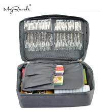 Kit de premiers soins gris, livraison gratuite, voyage en plein air, sac, petite boîte médicale, kit de survie d'urgence, traitement, Camping en plein air