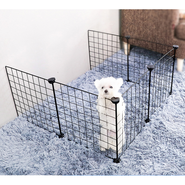 Foldable Iron Pet Playpen  1