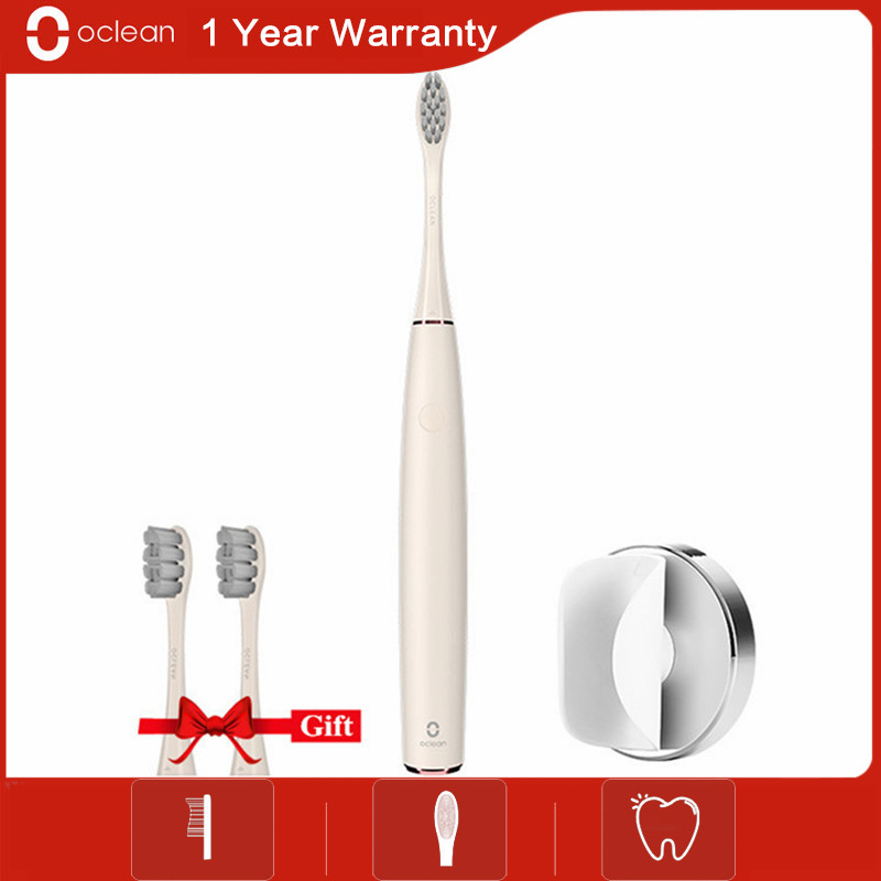 Original Oclean Air Rechargeable Sonic Electric Toothbrush with APP Control Oclean Air Toothbrush with 1Pc Free Brush Head Gift image