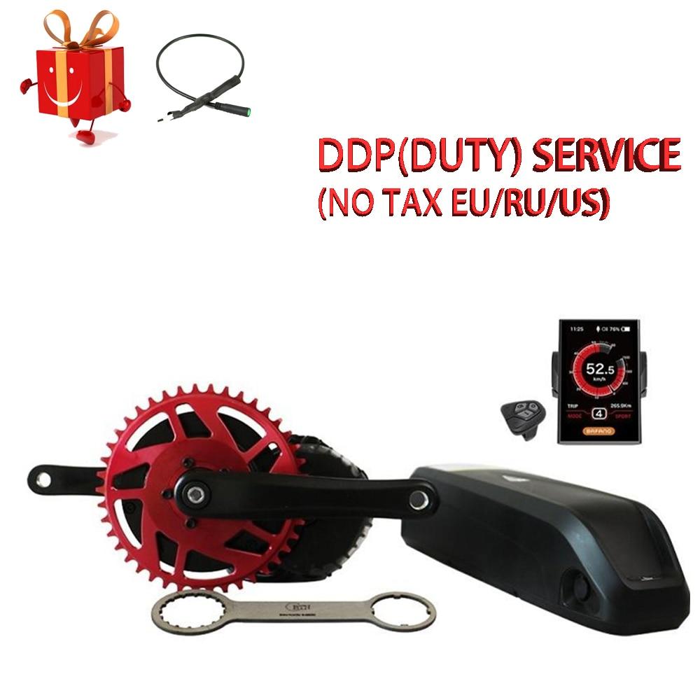 48v1000w bafang m615 52v1000w bbshd ebike motor de bicicleta elétrica 8fun mid drive kit conversão bicicleta elétrica
