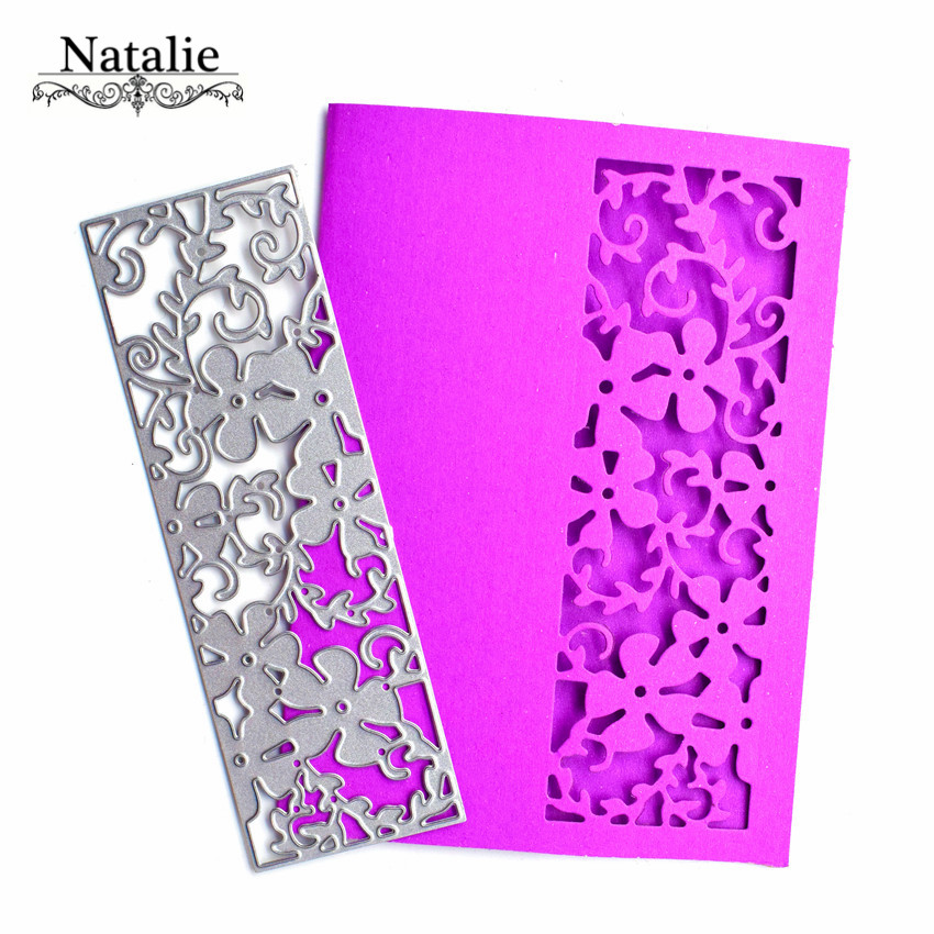 10Pcs Flower Design Metal Cutting Die For DIY Scrapbooking Album Paper Cards ZN