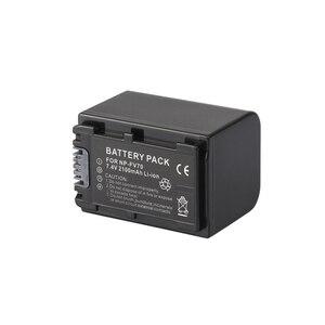 7.2V 2100mAh NP-FV70 NP FV70 NPFV70 Camera Battery For Sony NP-FV50 FV30 NP-FH50 NP-FH70 HDR-CX230 HDR-CX150E HDR-CX170 CX300 Z1