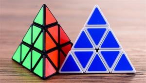 Image 5 - Lesiostress Originele 3X3X3 Piramide Magische Kubus Piramide Cubo Magico Professionele Puzzel Onderwijs Speelgoed Voor Kinderen