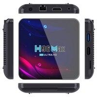 2,4G 5G Wifi H96 Max V11 für-Android 11 TV Box RK3318 16GB Bluetooth 4,0 für-Google Stimme 4K Smart TV Box