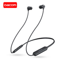 DACOM L03X Bluetooth Earphone Neckband Olahraga Wireless Headphone Mini Headset Ringan, 6 Jam Pemutaran untuk iPhone Samsung(China)