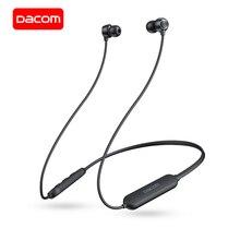 Dacom L03X Bluetooth Oortelefoon Nekband Sport Draadloze Hoofdtelefoon Mini Headset, Lichtgewicht, 6 Uur Afspelen, Voor Iphone Samsung