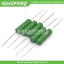 5PCS RX21 6W Wire Wound Resistência 5% 1R 10R 100R 15 12 10 1K K K K 18R 20R 22R 24R 27R 30R 33R 36R