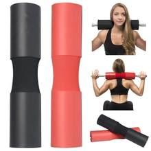 Espuma barbell almofada agachamento protetor weightlifting pescoço almofada de ombro fitness pescoço hip ponte hip push barra almofada