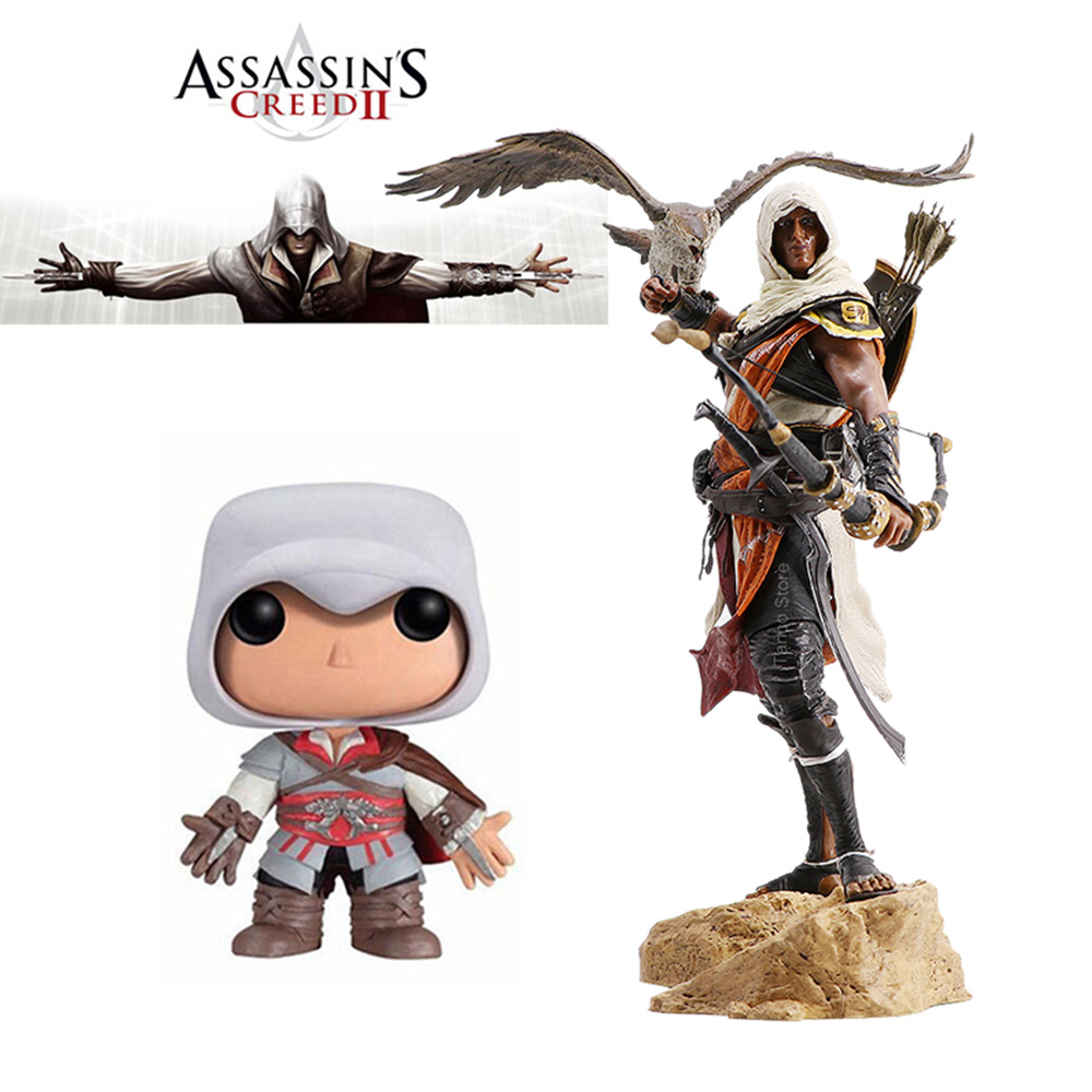 Assassins Creed Figure Originis Bayek Figure Assassin Action Figure Bayek Ezio Figure Collection Model Toys