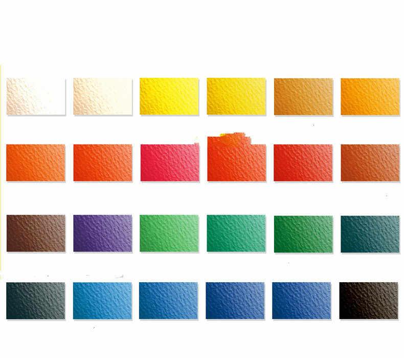 Juego de pigmento de acuarela de 24 36 colores, juego de pintura portátil pintada a mano para estudiantes, caja de hierro, suministros de arte de color agua