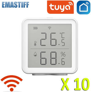 10PCS Tuya WIFI Temp...