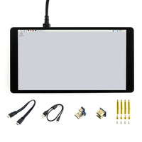 Touch Screen HD LCD Display Monitor 1920x1080 Resolution Multi PC 6H Hardness Capacitive 5.5inch HDMI AMOLED For Raspberry Pi 4