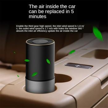 E-FOUR Air Sterilization Purification Machine Kill Virus Portable Car Home Office Air Freshener Disinfector Ventilator in Car