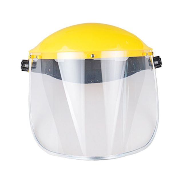 Multipurpose Transparent Removable Anti-saliva Dust-proof Safety Protective Face Shield Clear Head-mounted Face Eye Shield Scree
