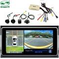 HD 1080P 3D панорамная система с углом обзора 360 градусов с 4 HD камерами видеонаблюдения, автомобильный парковочный видеорегистратор с объемным ...