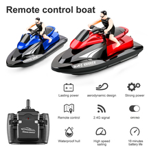 Remote Control Motor Boat Speedboat Rivers 2.4Ghz Lakes Water Toys For Swimming Pools Lakes Boys Gift RC Speedboat RC Motor toys