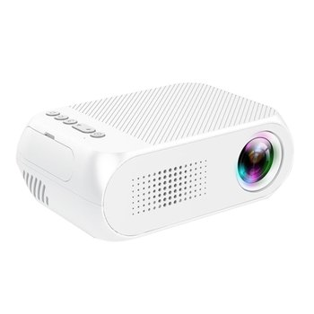 Yg320 White Mini Portable Led Projector Usb Hdmi Home Cinema Projector For Mobile Phone Home Theater for AU plug