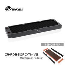 Copper Radiator Cooler CR-RD360RC-TN-V2 Bykski 360mm Heat-Dissipation 12cm Fan High-Performance