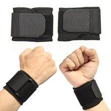 Ajustável macio pulseiras suporte de pulso braceletes para ginásio esporte basquete carpal protetor respirável envoltório banda cinta segurança 8