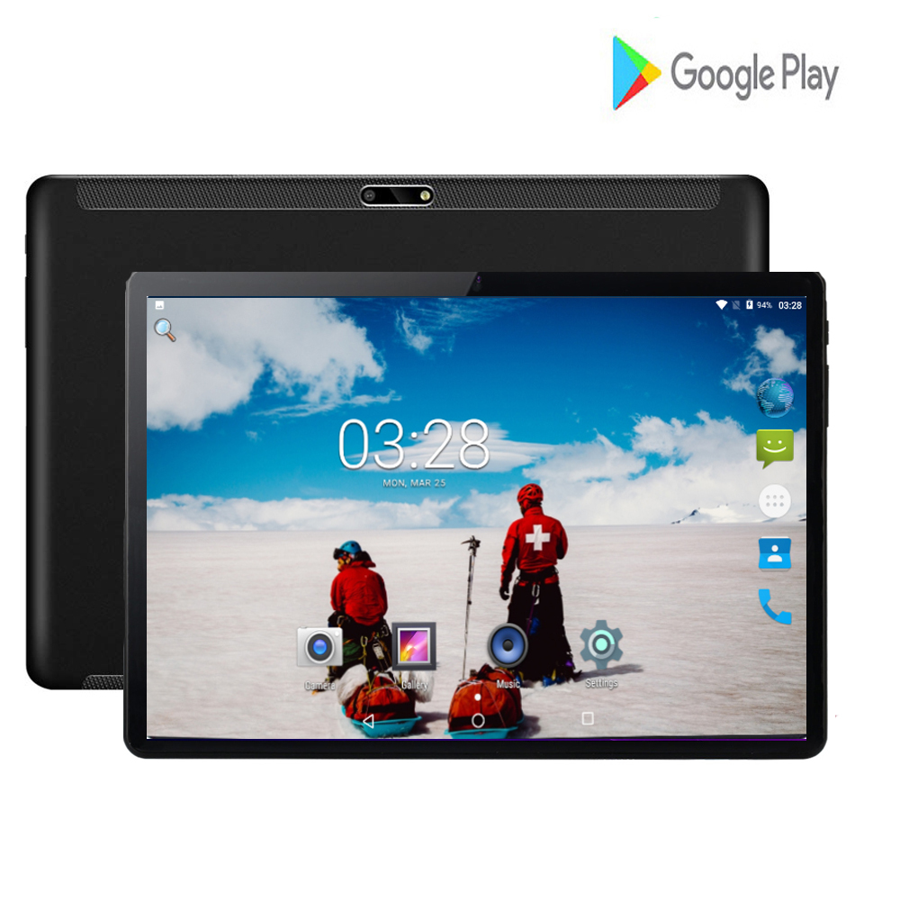 2020 Global Version 10 Inch Tablet Quad Core 2+32 GB 3G WCDMA 1280*800 IPS Dual SIM Card Wifi GPS Android 7.0 Tablet 10 Inch
