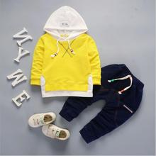Kids Clothes Autumn SPRING Baby Boys Clothes Sets Children Clothing Sets Baby Girls Sport Suit T-shirt+Pants 2Pcs Outfit Suit cheap anrayan Active Hooded Pullover RY20190469JG COTTON Unisex Full REGULAR Fits true to size take your normal size Coat Solid