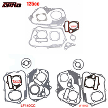 TDPRO 125cc 140cc 150cc Lifan Set Engine Gaskets Motor Cylinder Gasket Head Base For Dirt Pit Bike Motorcycle Scooter Quad Buggy