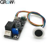 Grow k261 + r557 dc12v realy saída de baixo consumo de energia anel identificação impressão digital indicador luz placa controle acesso