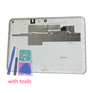 Image 1 - Housing Back Cover For Samsung T530 T531 T535 Galaxy Tab 4 10.1 Original Tablet Phone New Rear Panel Battery Door Lid With Tools