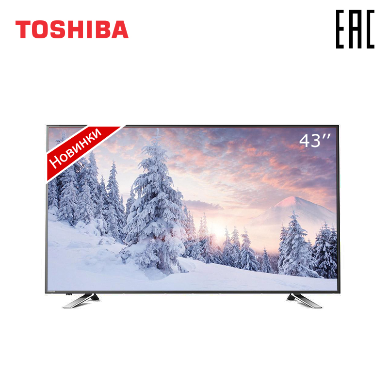 Télévision 43 pouces TV TOSHIBA 43U5865 4K UHD Smart TV