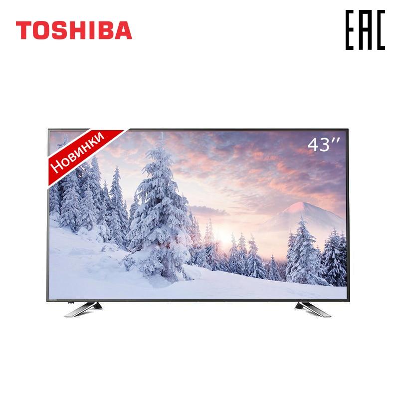 Televisão de 43 polegadas tevê toshiba 43u5865 4 k uhd smart tv