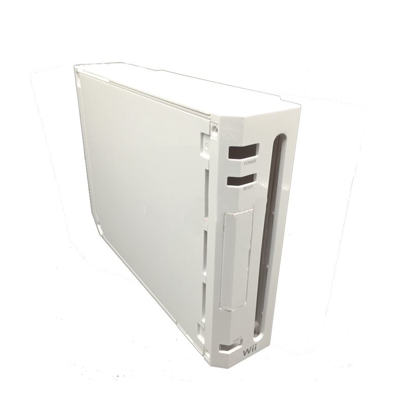 cheapest Full Case Cover Housing Shell With Button for Nintend Wii With Retail Packing Cover Housing Case Shell for Wii Console