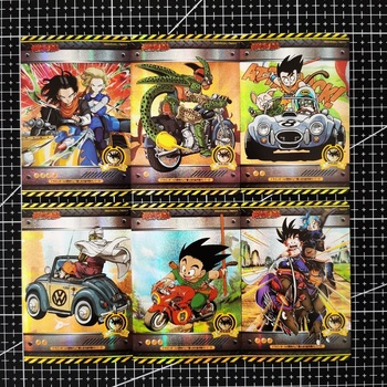 27pcs/set Vehicle Super Saiyan Heroes Battle Ultra Lnstinct Goku Vegeta Hobby Collectibles Game Anime Collection Cards 12pcs set saint seiya solid gold soul dragon ball super saiyan goku hobby collectibles game collection anime cards limit