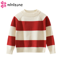 Boys Tops Clothing Outfit Costumes Autumn Winter Boys Knitting Sweater Kids Striped Pullover Sweater Children Soft Warm Clothes autumn winter cotton tops clothing boys girls knitting sweater pullover kids sweaters children soft warm clothes