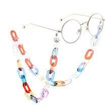 Transparent Color Print 70cm Glasses Chain Fashion Lanyards Eyewear Acc