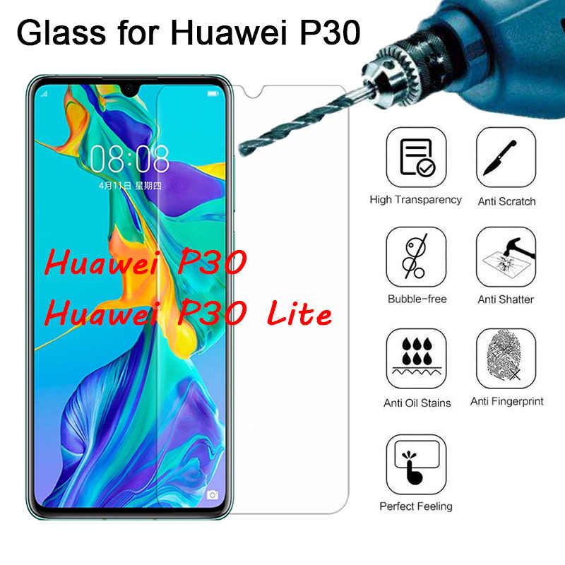 Protective Glass for Huawei P30 Lite P Smart 2019 Toughed Tempered Glass for Huawei P20 Pro P10 P8 P9 Lite 2017 Screen Protector