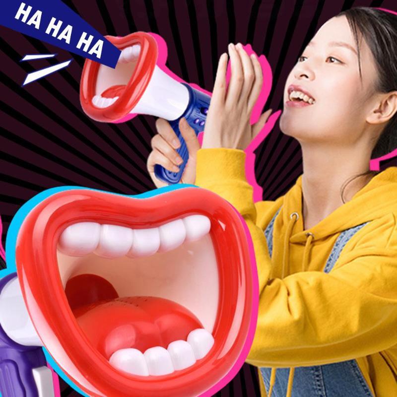 Loudspeaker Voice Changer Recorder Voice Change Toy Children Handheld Loudspeaker Toys For Children Random Mini Funny Vocal Toys